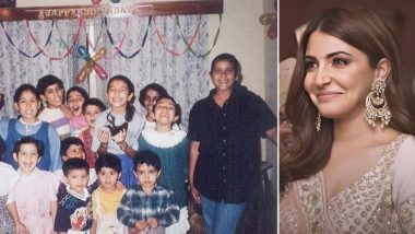 Friendship Day 2020: Anushka Sharma Remembers Her Childhood Friends; Actress Pens Heartfelt Note on the Occasion (View Pic)