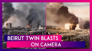Beirut Twin Blasts: Explosions That Ripped Through Lebanon Capital Caught On Camera, 73 Killed