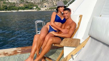 Amid PSG Transfer Rumours, Cristiano Ronaldo Shares Picture With Girlfriend Georgina Rodriguez From His Portofino Vacation (See Post)
