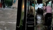 AAP Replies To Binod After Latter Shares Jaipur Video of Half-Submerged Bus Claiming it of Delhi's DTC Bus