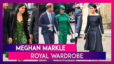 Meghan Markle Birthday Special: A Peek Into Her Royal Wardrobe