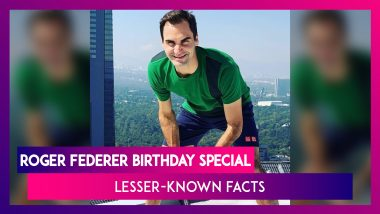 Happy Birthday Roger Federer: Lesser-Known Facts About The Swiss Tennis Maestro