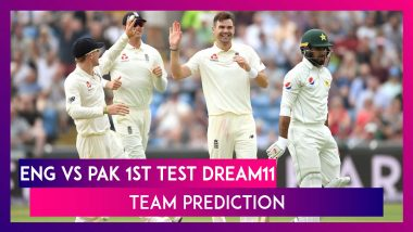 England vs Pakistan Dream11 Team Prediction, 1st Test 2020: Tips To Pick Best Playing XI