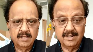 SP Balasubrahmanyam Tests Positive for Coronavirus, Says 'Nobody Has to Worry' As He's Showing Mild Symptoms (Watch Video)