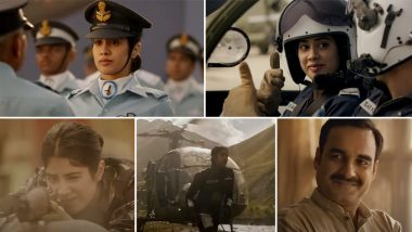 Bharat Ki Beti Song From Gunjan Saxena The Kargil Girl Is A Patriotic And Emotional Tribute To Daughters Watch Video Latestly