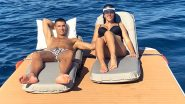 Cristiano Ronaldo Goes Sunbathing With Girlfriend Georgina Rodriguez After Juventus' Champions League Exit (View Pic)