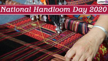 National Handloom Day 2020 Photos: From Muga Silk to Kanjeevaram, Twitterati Celebrate the Handloom Weavers in India and Their Amazing Artistry Skills