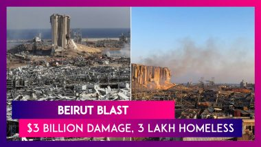 Beirut Blast Leaves Three Lakh Homeless, Cost Of Damage Tops $3 Billion, Says Governor Marwan Abboud