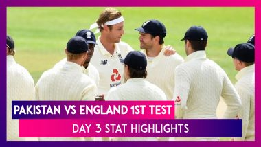 PAK vs ENG 1st Test Day 3 Stat Highlights: Bowlers Keep Pakistan Lead In Check With Regular Wickets