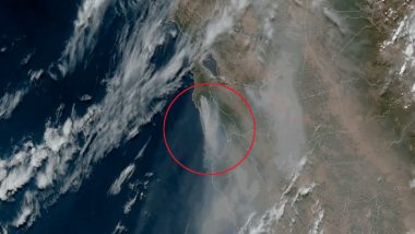 NASA Imagery Shows California Wildfires From Space With Over 300,000 Acres Currently on Fire (View Satellite Pics)