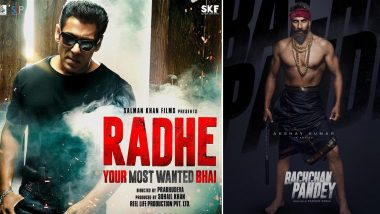 Will Salman Khan's Radhe Clash With Akshay Kumar's Bachchan Pandey on Republic Day or Will the Actor Play Safe With an Eid 2021 Release?