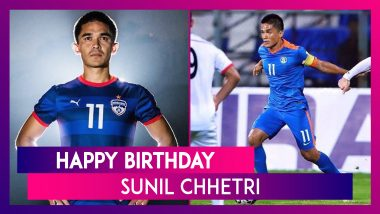 Happy Birthday Sunil Chhetri: Top 5 Records By Indian Football Captain As He Turns 36