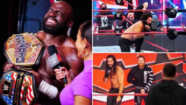 WWE Raw Aug 3, 2020 Results and Highlights: Seth Rollins to Face Dominik Mysterio at SummerSlam; Apollo Crews Defeats MVP to Retain United States Title (View Pics)