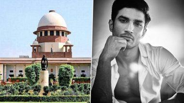 Sushant Singh Rajput Death Case: Centre Tells Supreme Court That It Has Accepted Bihar's Recommendation for CBI Probe Into Actor's Death