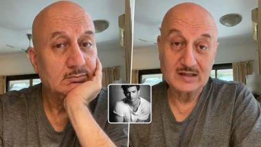 Anupam Kher Shares Video Message Seeking Justice For Sushant Singh Rajput's Tragic Demise (Watch Video)