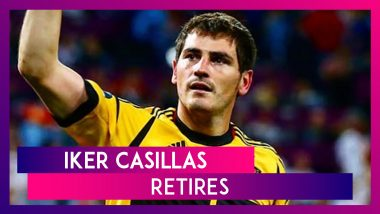 Iker Casillas Announces Retirement From Football At The Age Of 39