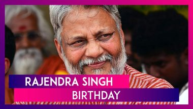 Rajendra Singh Birthday: Know About 'Waterman of India' Who Initiated Water Conservation Projects