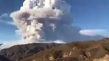 California Wildfire: Lake Hughes Fire in Angeles National Forest Burns 10,000 Acres, Evacuations Ordered; Watch Video