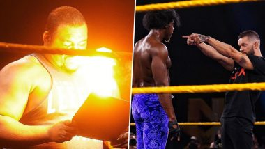 WWE NXT Aug 12, 2020 Results and Highlights: Keith Lee Hit With Fireball Post Signing Contract For World Title Match Against Karrion Kross at TakeOver XXX; The Velveteen Dream Returns (View Pics)