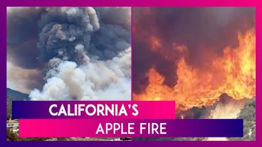California's Apple Fire Has Grown To More Than 20,000 Acres, 5% Contained; NASA Images Show 2 Views