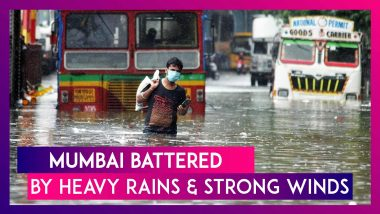 Mumbai Gets 293.8 mm Rain, Breaks 46 Year Record; Winds At Cyclone Speed Of 107 kmph Whips The City