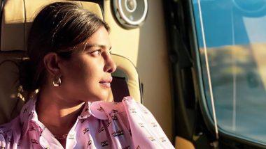 Priyanka Chopra's Wanderlust Travel Pic Leaves Us Guessing If She is Heading for Matrix 4 Shoot!