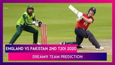 England vs Pakistan Dream11 Team Prediction, 2nd T20I 2020: Tips To Pick Best Playing XI