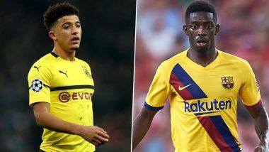 Jadon Sancho Transfer News Latest Update: Manchester United Line Up Ousmane Dembele As Alternative For England Star
