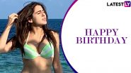 Sara Ali Khan Birthday: 11 Fabulous Pictures Which Prove She's a True Water Baby!