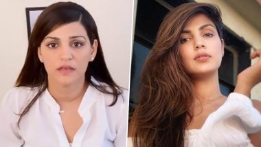 SSR Case: Shweta Singh Kirti Hits Out at Rhea Chakraborty Over Tarnishing the Image of Late Brother on National TV (Read Tweet)