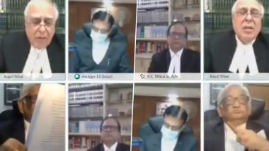 Video of Senior Advocate Smoking Hookah During Rajasthan High Court Virtual Hearing Goes Viral