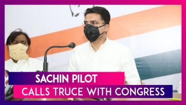 Sachin Pilot Calls Truce With Congress Post Meeting Rahul, Priyanka; Welcome Back Says Party Leaders