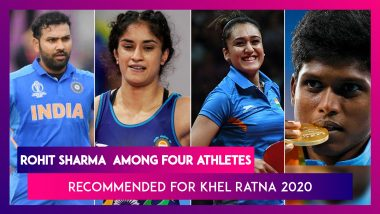 Rohit Sharma, Vinesh Phogat Among Four Athletes Recommended For Rajiv Gandhi Khel Ratna 2020