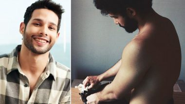 Siddhant Chaturvedi Shares Shirtless Pic Cleaning His Typewriter; Actor's Impressive Caption Gets Our Attention