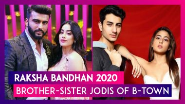 Raksha Bandhan 2020: Checking Out Bollywood's Most Stylish Brother-Sister Jodis