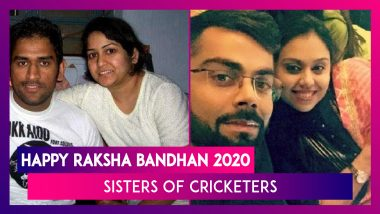 Happy Raksha Bandhan 2020: Ms Dhoni, Virat Kohli And Other Indian Cricketers With Their Sisters