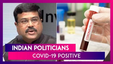 Union Minister Dharmendra Pradhan & Other Indian Politicians Who Tested Positive For Coronavirus
