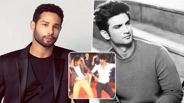 Sushant Singh Rajput Dancing With Siddhant Chaturvedi on Katrina Kaif's Chikni Chameli Will Make You Emotional [Watch Video]