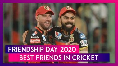 Happy Friendship Day 2020: Virat Kohli-AB de Villiers And Other Best Friends' Pair In Cricket