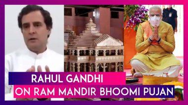 Rahul Gandhi's 'Ram Is Love' Tweet, Pinarayi Vijayan On Congress's Ram Mandir Stand, Owaisi's Retort