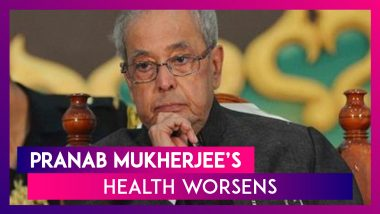 Pranab Mukherjee's Health Worsens, On Ventilator; May God Do Whatever Is Best For Him, Says Daughter
