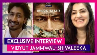 Vidyut Jammwal & Shivaleeka Oberoi Talk Khuda Haafiz, Romancing in Films & Action Stunts | Interview