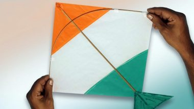 Independence Day 2020 in India: How to Make Tricolour Kite at Home? Easy Craft Ideas and DIY Videos to Create Kite and Celebrate 74th Independence Day