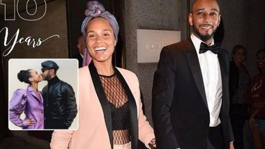 Alicia Keys and Husband Swizz Beatz Celebrate 10th Wedding Anniversary with Lots of Love (View Posts)