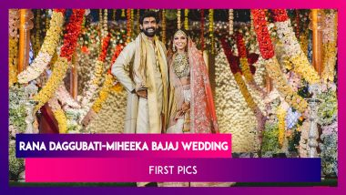 Rana Daggubati-Miheeka Bajaj Wedding: The Couple Looks Royal In Their Traditional Outfits!