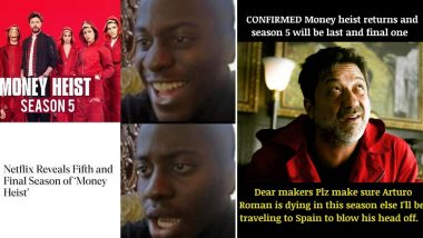 Money Heist Funny Memes and Jokes: From Taking a Dig at Arturo to Missing Nairobi, Hilarious Posts About Netflix's Hit Spanish Show 'La Casa De Papel' Are Here To Stay!