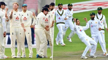 ENG 96/3 in 38.4 Overs (Target 277) | England vs Pakistan Live Score Updates of 1st Test Day 4: Naseem Shah Accounts for Joe Root