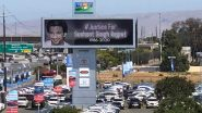 Sushant Singh Rajput's Sister Shares Pic of a Billboard in California Demanding Justice for The Late Actor (View Tweet)