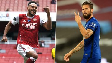 Arsenal vs Chelsea, FA Cup 2019-20: Pierre-Emerick Aubameyang, Olivier Giroud And Other Players to Watch Out for Ahead of Final Clash