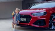 Audi Apologises and Withdraws 'Insensitive' Ad Featuring Little Girl Eating Banana Following Public Outcry Online (Check Tweet)